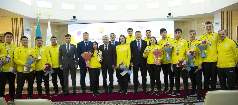НОК РК чествовал победителей и призёров летних юношеских Олимпийских игр — 2018