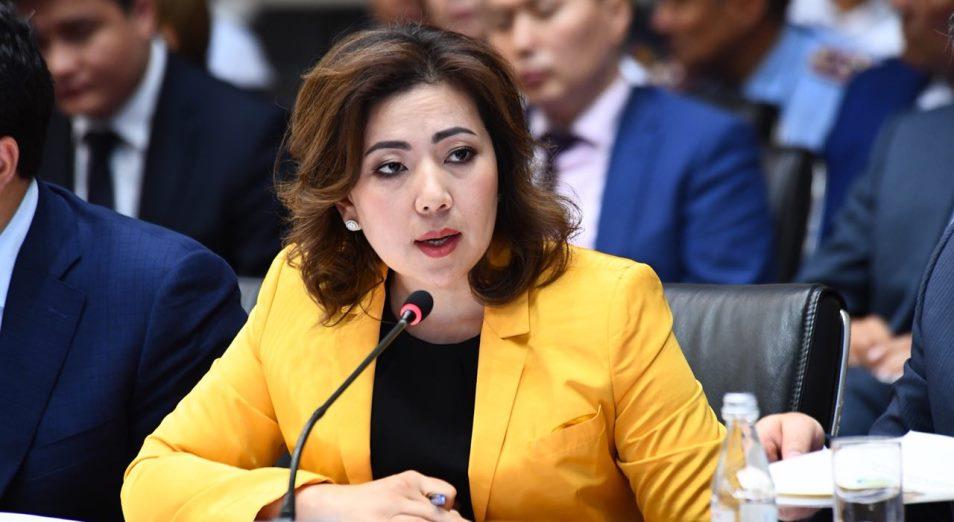 Мадина Абылкасымова стала главной финансовой интригой года