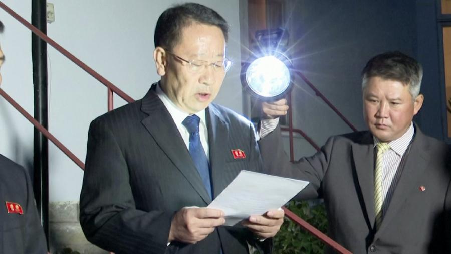 КНДР считает, что продолжение переговоров по денуклеаризации зависит от США