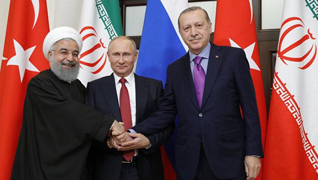 Следующий саммит РФ – Турция – Иран пройдёт в астанинском формате