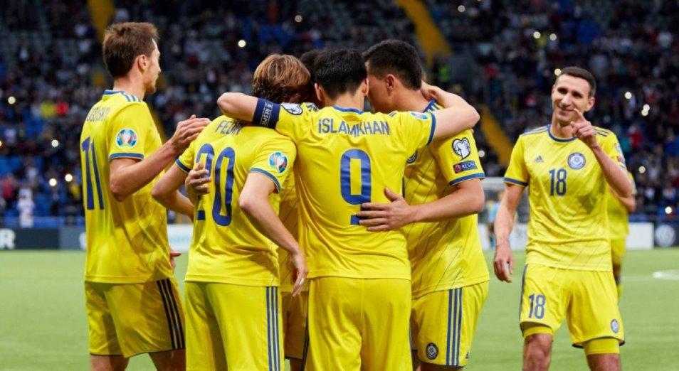 Игроки сборной Казахстана рассчитывают на шесть очков в Лиге Наций