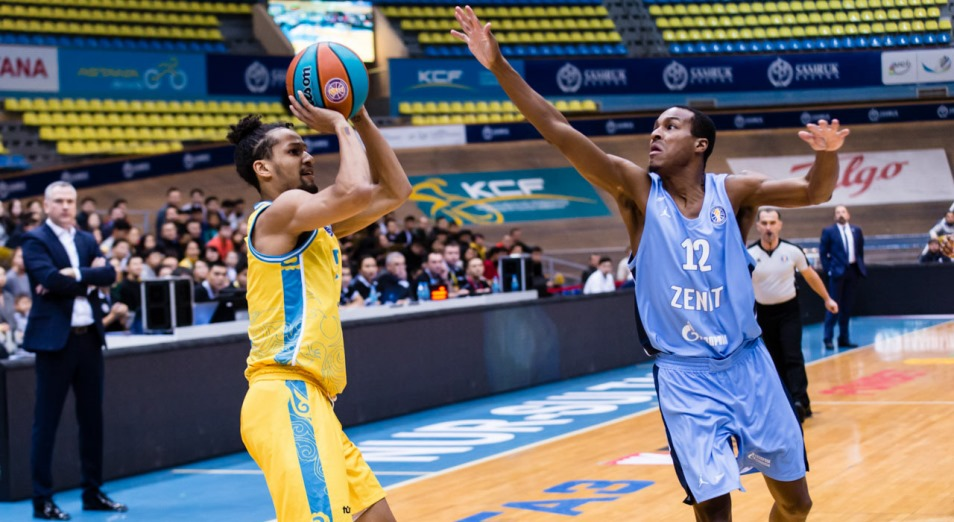 «Астана» помогла «Зениту» установить рекорд сезона Единой Лиги ВТБ