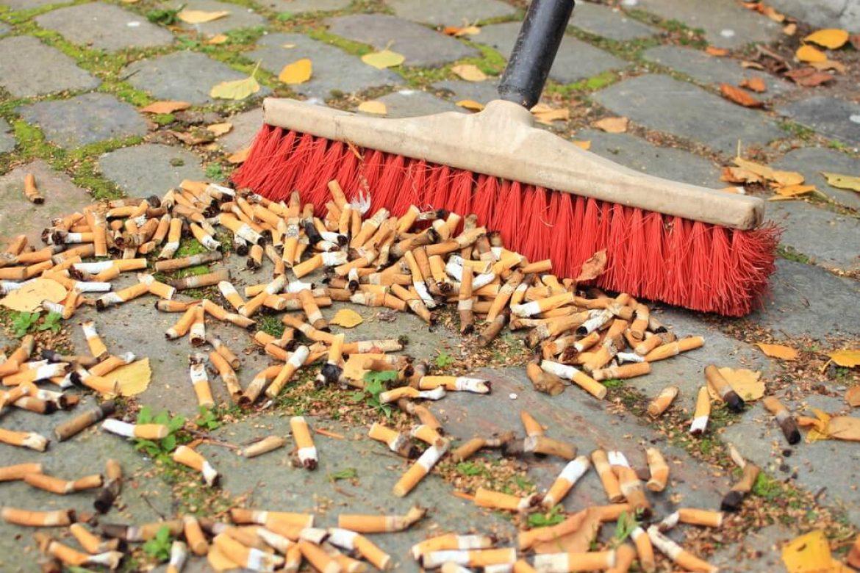 Как снизить вред природе от сигаретных окурков?