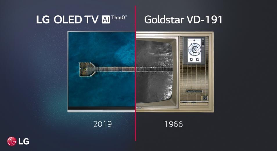 История телевизоров LG Electronics: от черно-белого до 8K