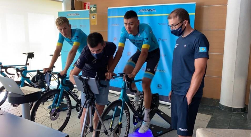 «Астана» сошла с дистанции на этапе виртуального «Тур де Франс»
