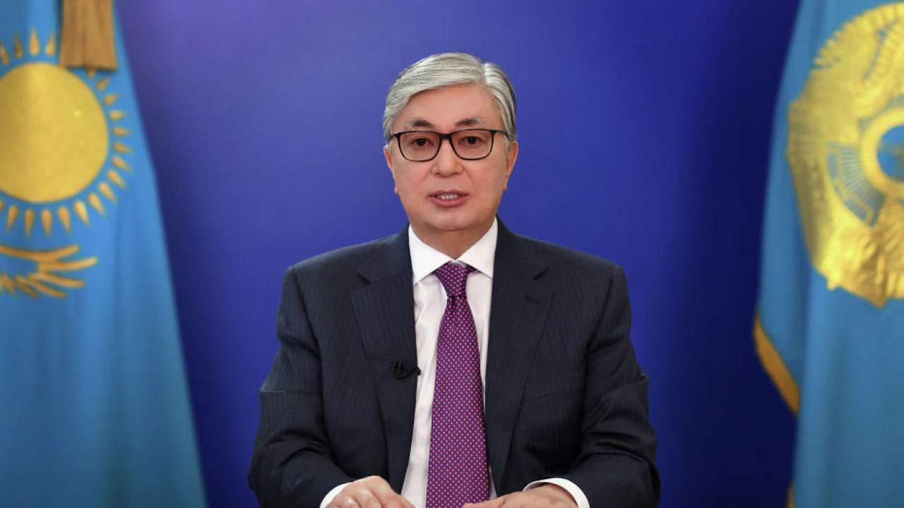 Президент Казахстана выступит с телевизионным обращением