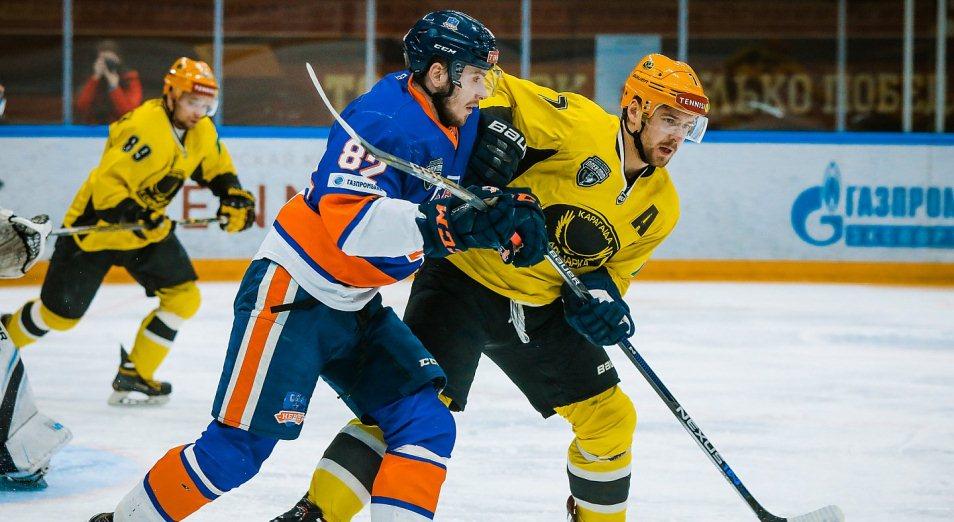 Плей-офф ВХЛ: «Сарыарка» уходит в отрыв