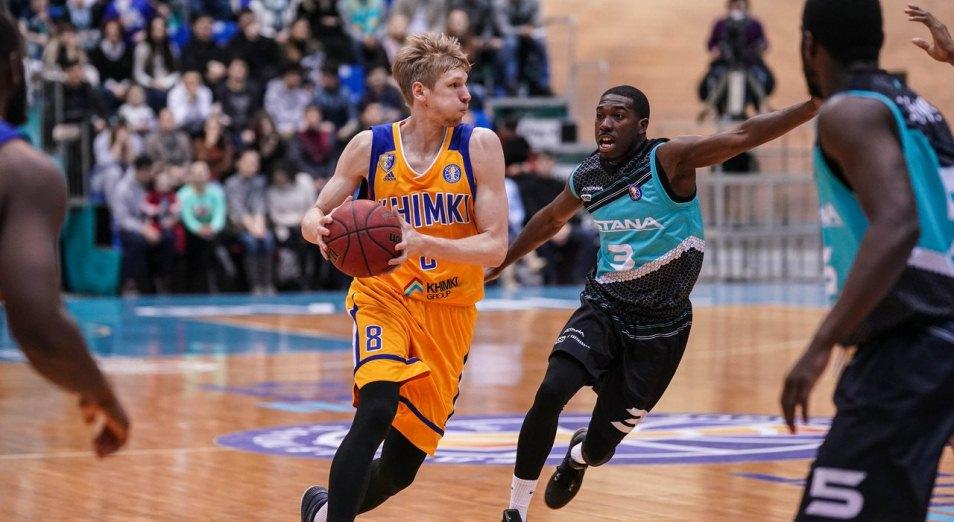 Единая лига ВТБ: Швед прервал победную серию «Астаны», Баскетбол, Астана, Химки, Единая лига ВТБ, Спорт
