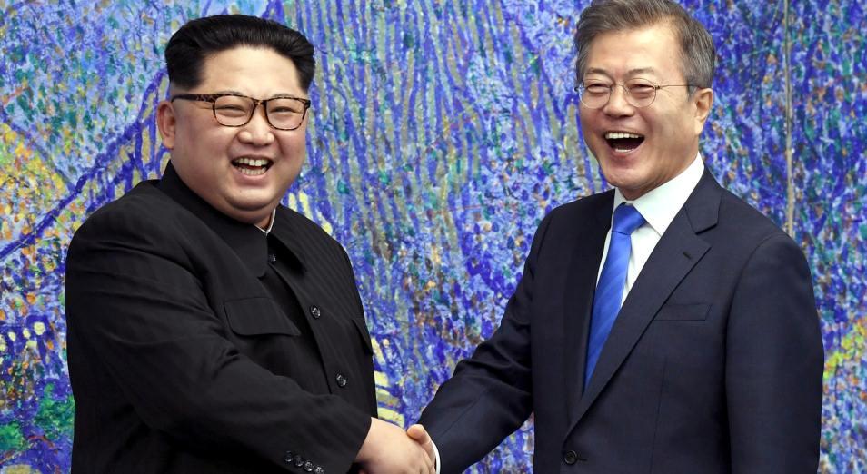 Астана поприветствовала исторический саммит двух Корей