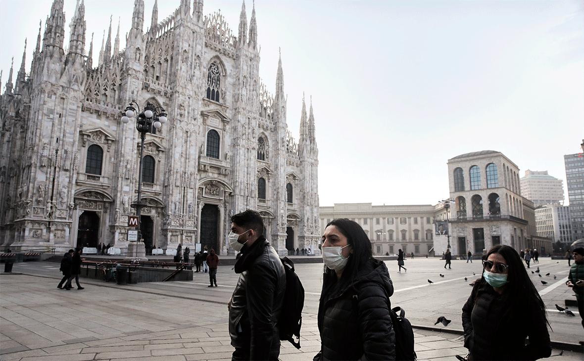 В Италии число случаев заражения коронавирусом превысило 1,5 тысячи