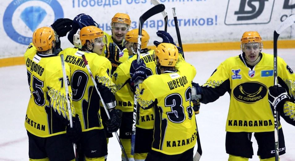 Регулярка ВХЛ: Тамбиев обыгрывает свой бывший клуб, Хоккей, Спорт, Сарыарка, ВХЛ