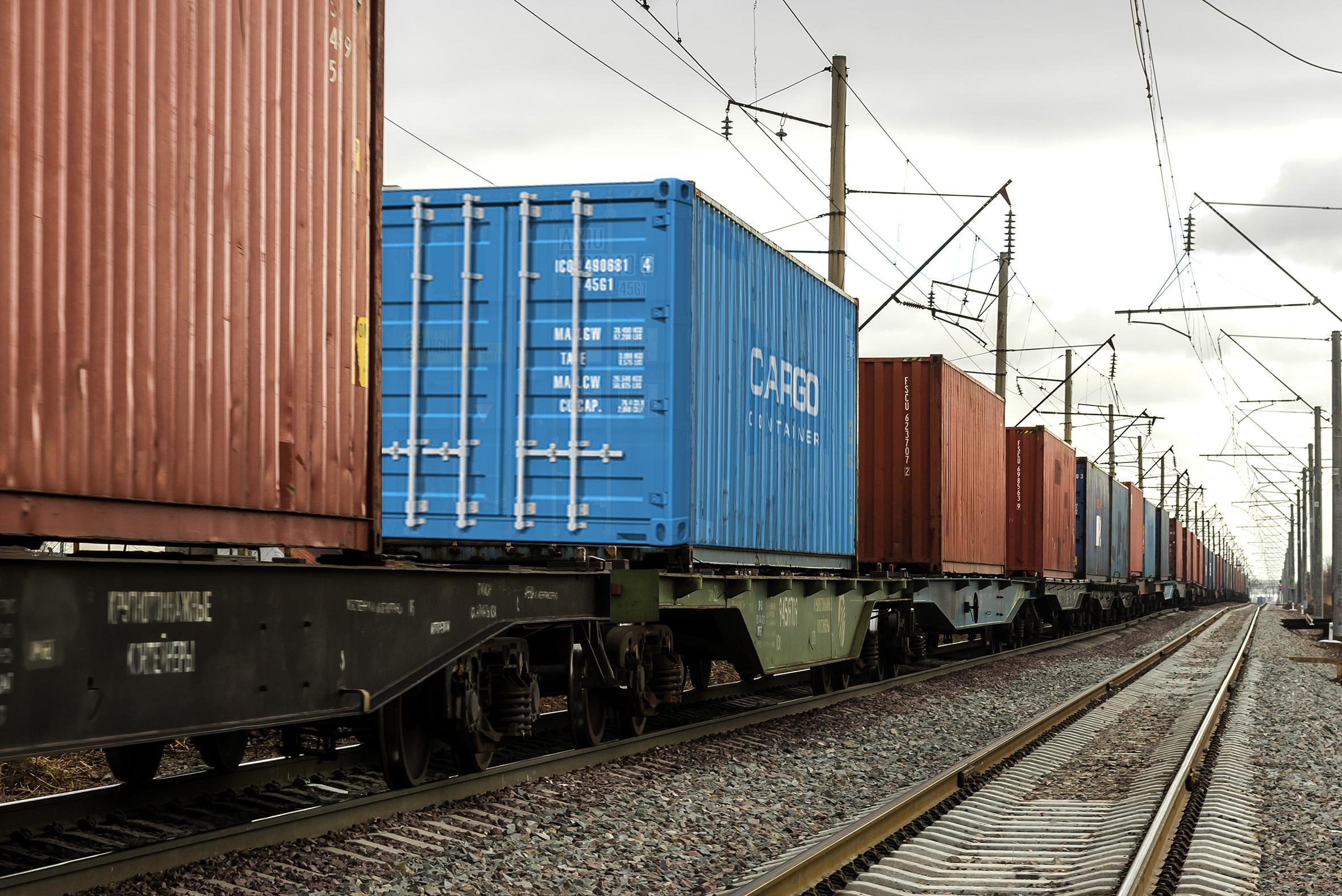 Транзит контейнеров по территории Казахстана с начала 2018 года увеличился на 45%