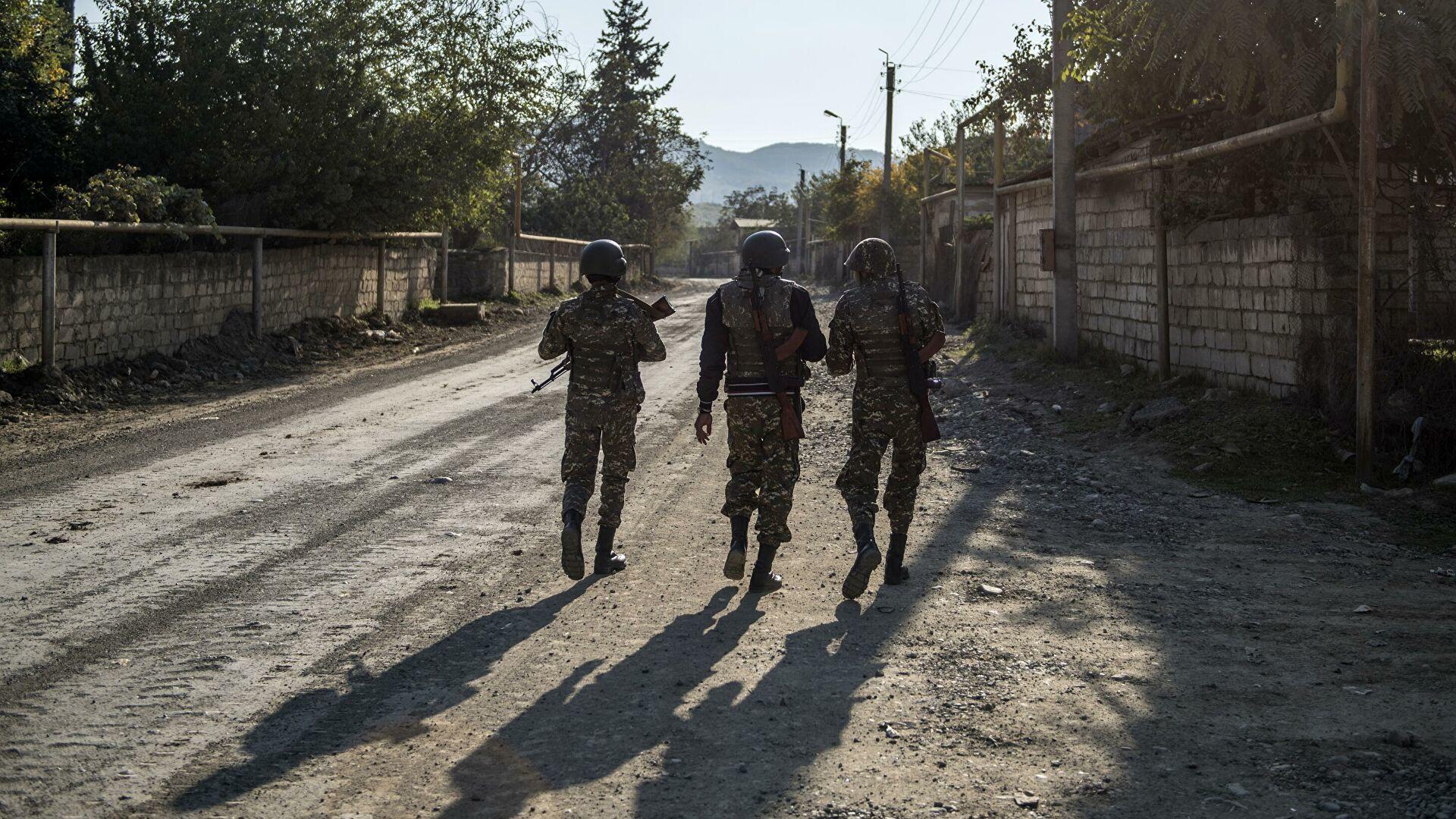 Объявленное Арменией и Азербайджаном перемирие в зоне карабахского конфликта вступило в силу