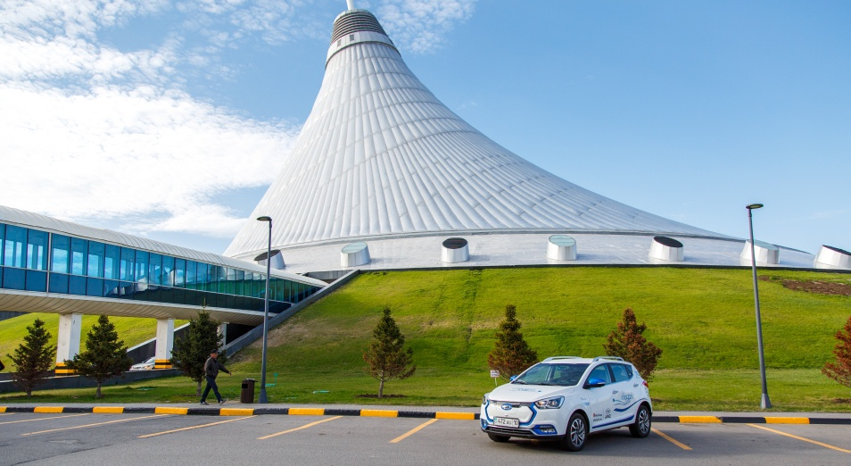Рациональная энергия, электромобили, Авто, СарыаркаАвтоПром, JAC iEV7s