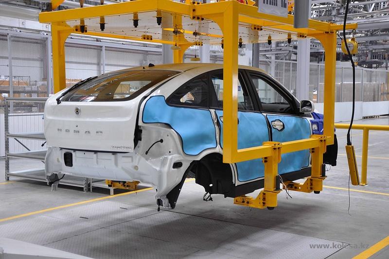 Половина проданных автомобилей – казахстанского производства
