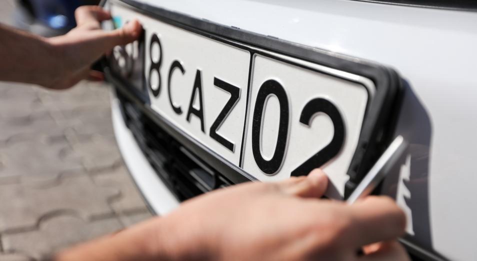 Авто с киргизскими и армянскими номерами необходимо зарегистрировать в месячный срок