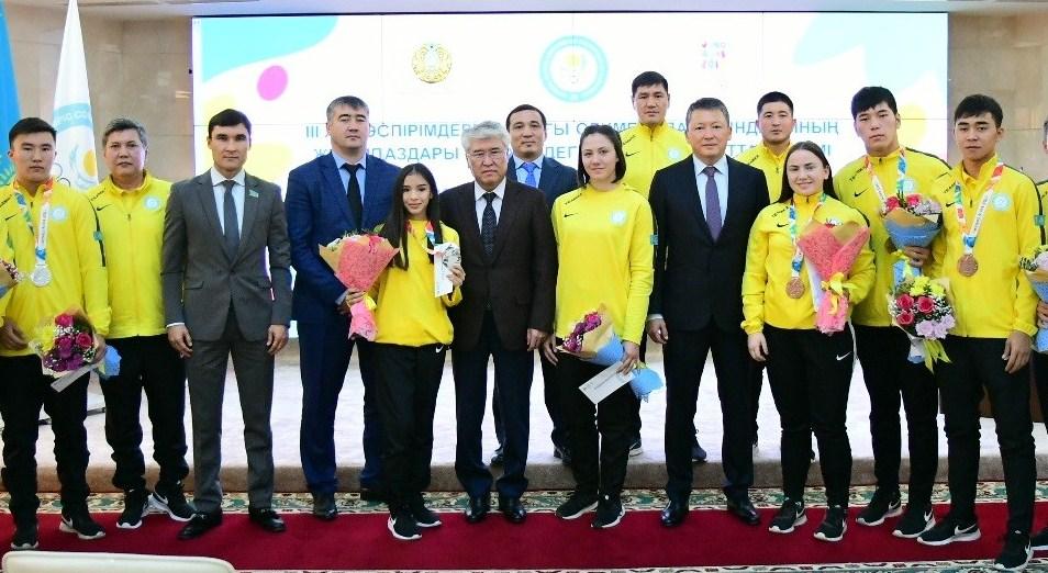 НОК РК чествовал победителей и призёров летних юношеских Олимпийских игр – 2018