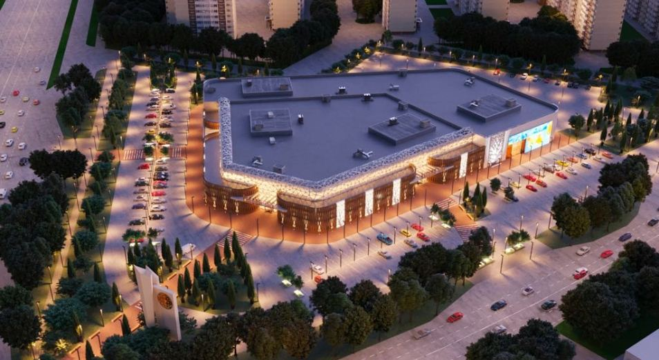 В Астане приступили к строительству Keruen Global, строительство, Рынок, Keruen Global, ТРЦ, Астана
