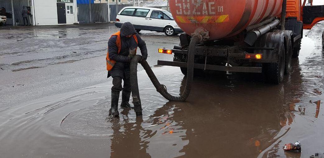 Паводки в Нур-Султане держат под контролем