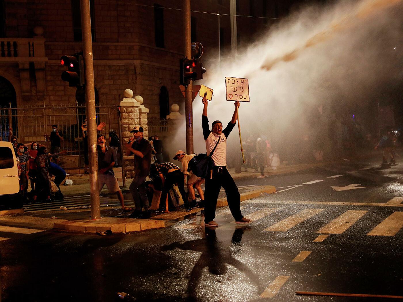 В Тель-Авиве полиция задержала 38 человек в ходе акции протеста