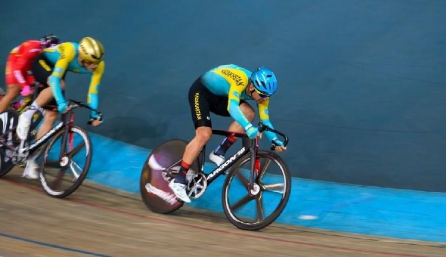 Тректегі велоспорттан екі қола бұйырды
