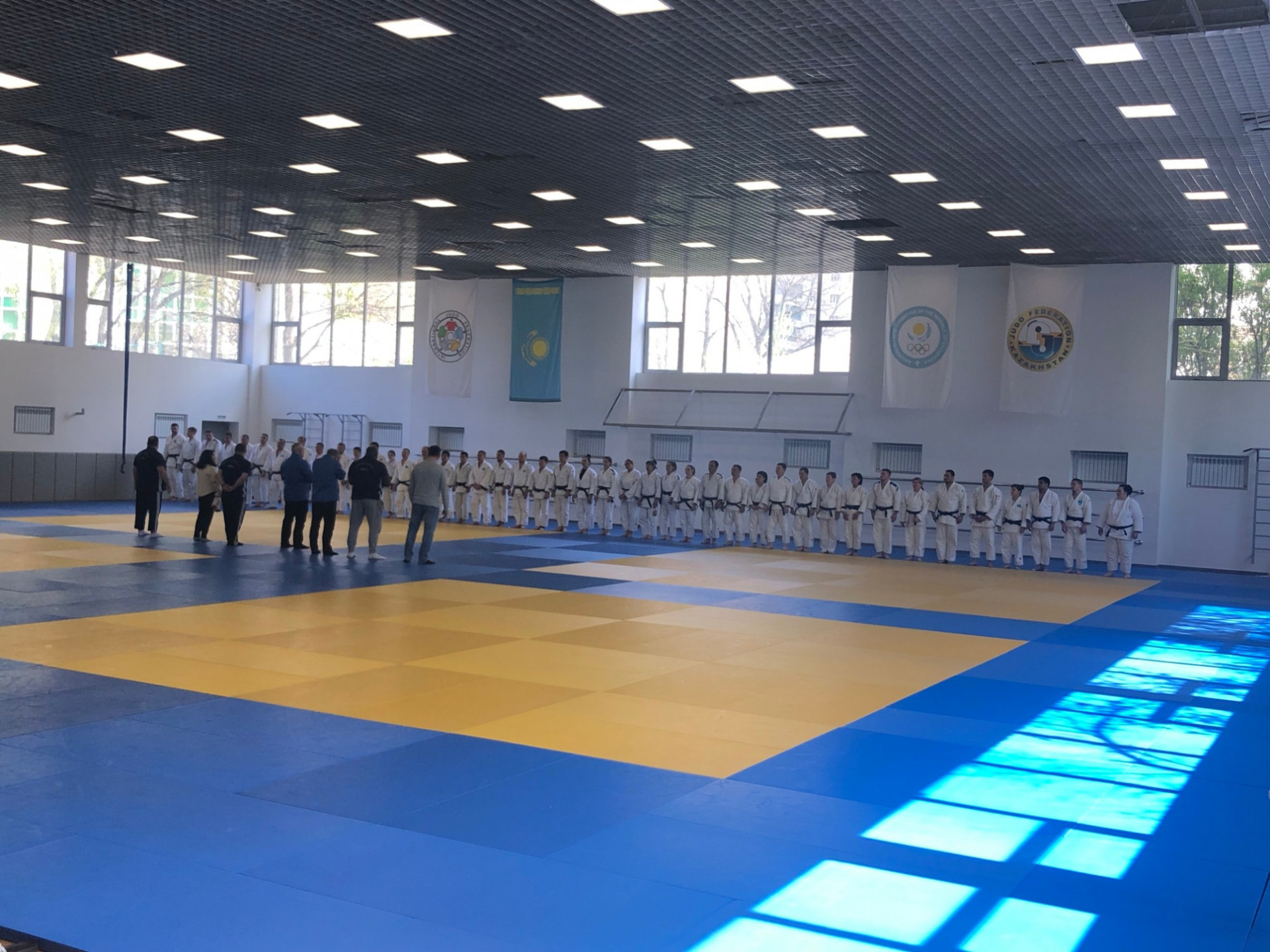 В Алматы завершились технические курсы для тренеров по дзюдо