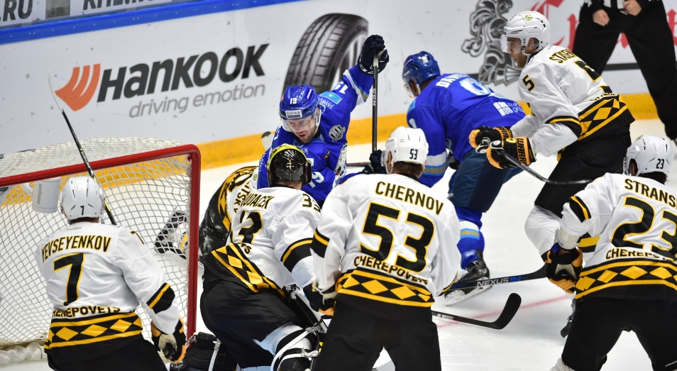 КХЛ: «Барыс» вернулся в зону плей-офф на Востоке