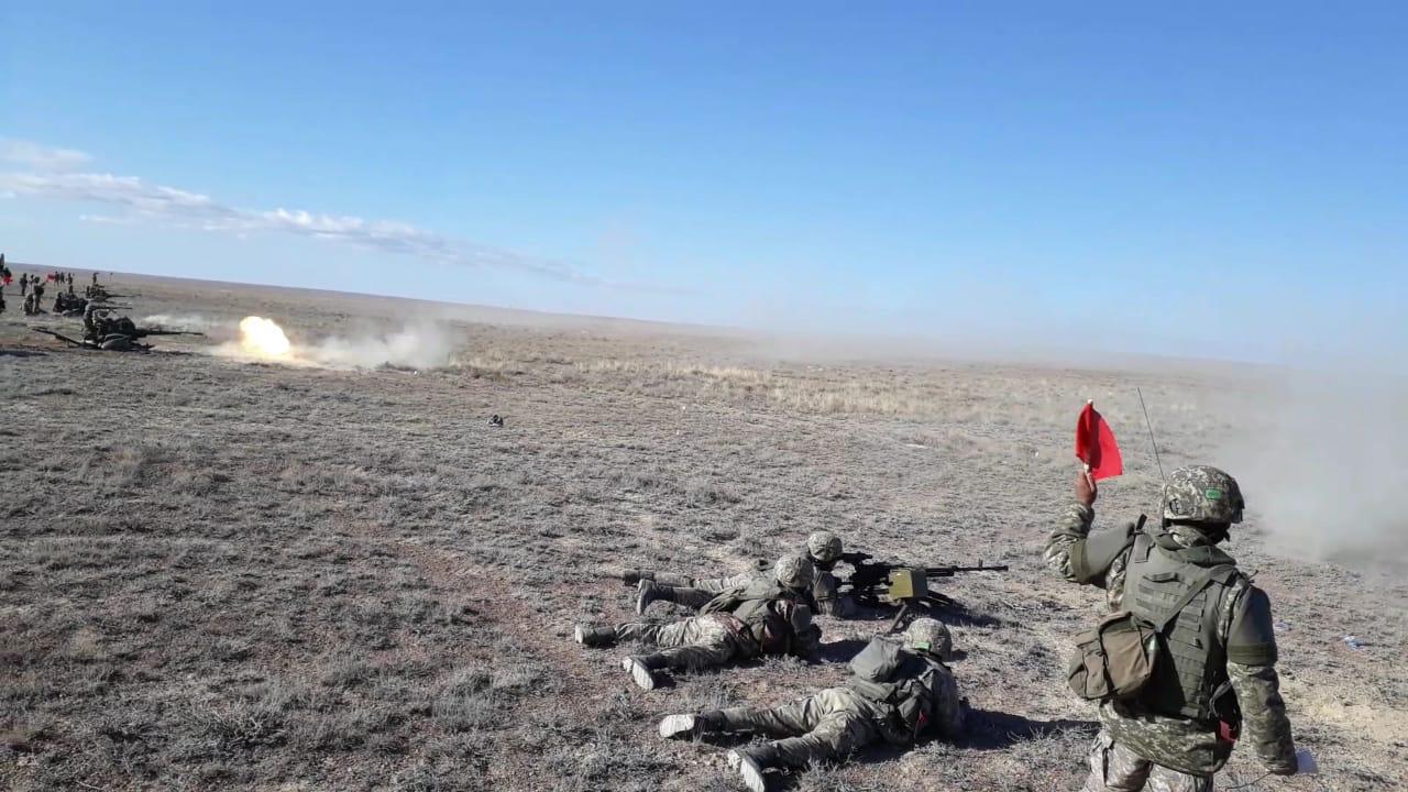 Войска противовоздушной обороны Сухопутных войск приступили  к боевым стрельбам дивизионов, Минобороны РК, Вооруженные силы, ПВО РК, Учения