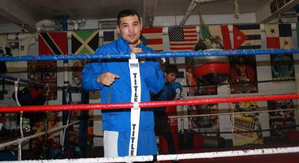 Елеусинов-старший будет драться в Мексике вместо Алматы