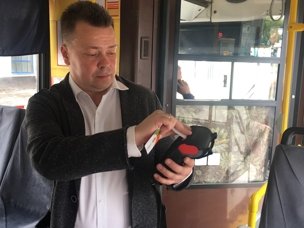В Павлодаре тестируют систему электронного билетирования