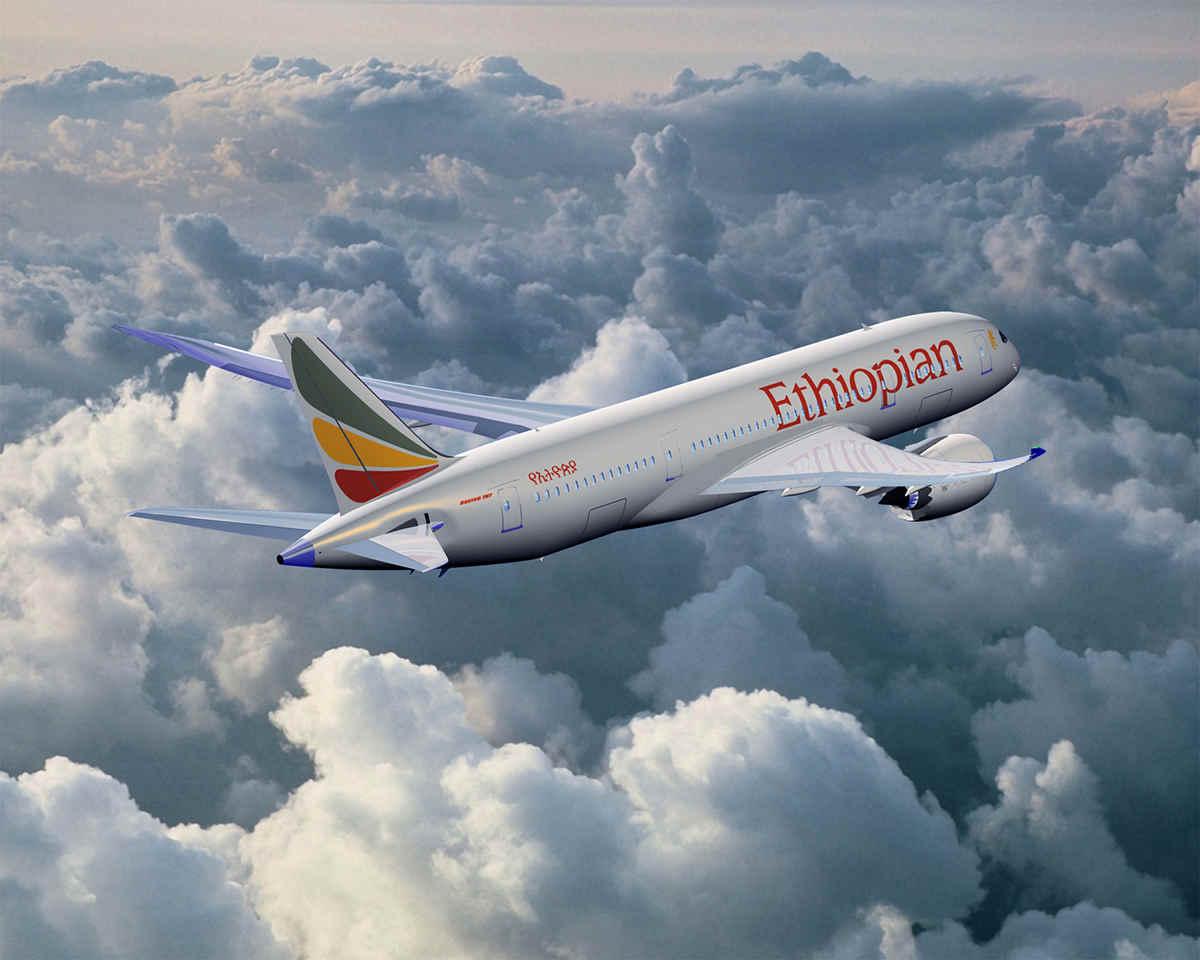 В Африке разбился самолет Ethiopian Airlines