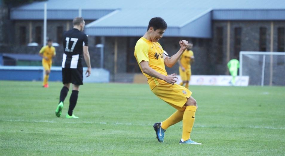 «Кайрат» гарантировал себе путевку во 2-й раунд квалификации ЛЕ, Кайрат, футбол, Энгордани, Лига Европы