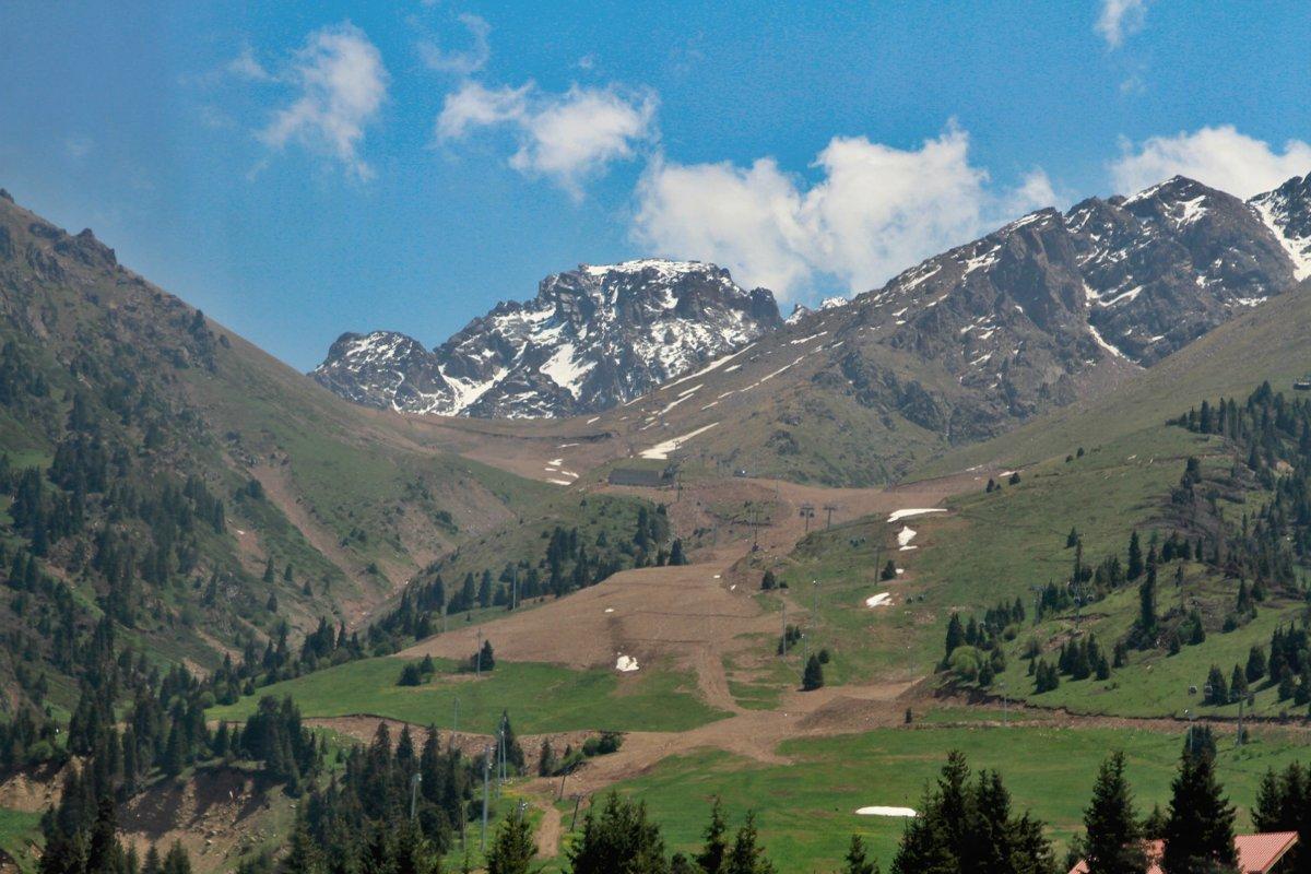 Шымбулак возглавил рейтинг горнолыжных курортов СНГ , Шымбулак, Курорт, Алтайские Альпы