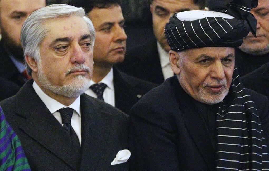 Президент Афганистана и его главный оппонент подписали договор о сотрудничестве