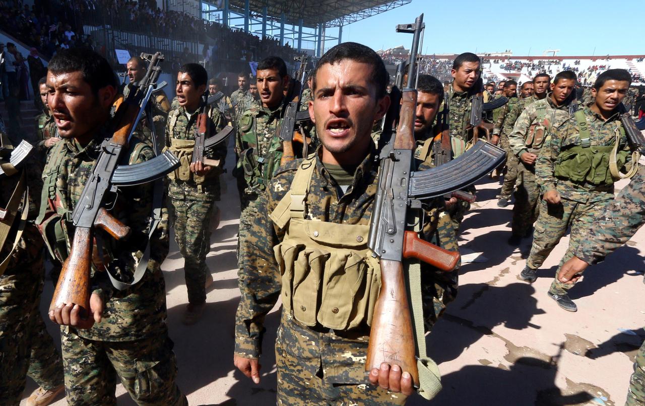 Курды опровергли сообщение о захвате города Рас-эль-Айн турецкими войсками