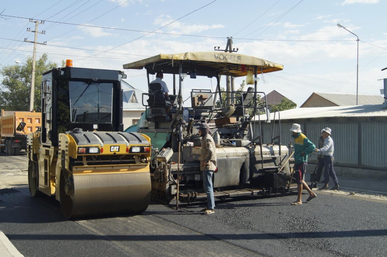 В городе Кентау Туркестанской области отремонтируют более 120 улиц