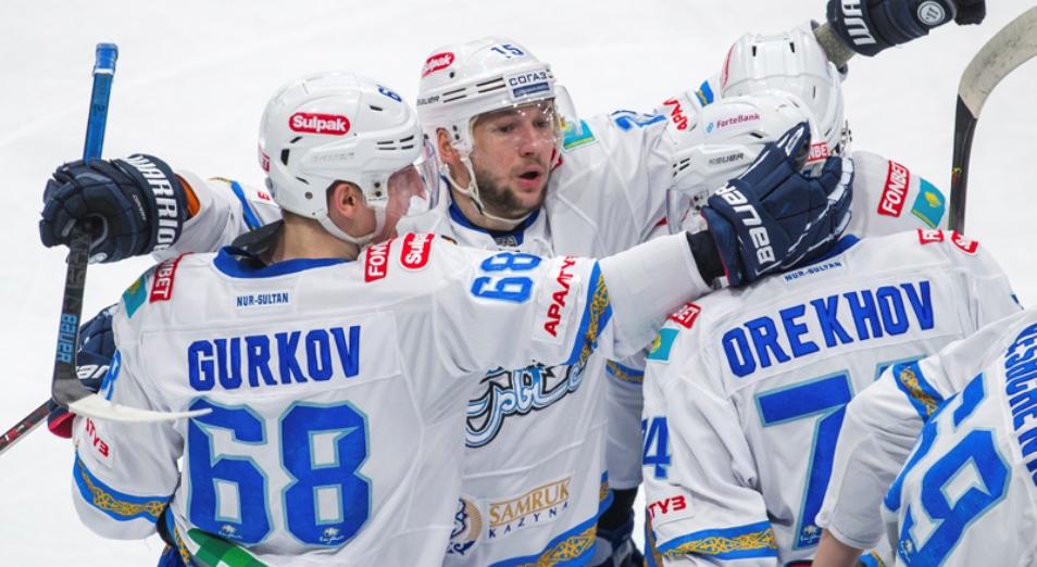 «Барыс» впервые в сезоне обыграл «Адмирал»