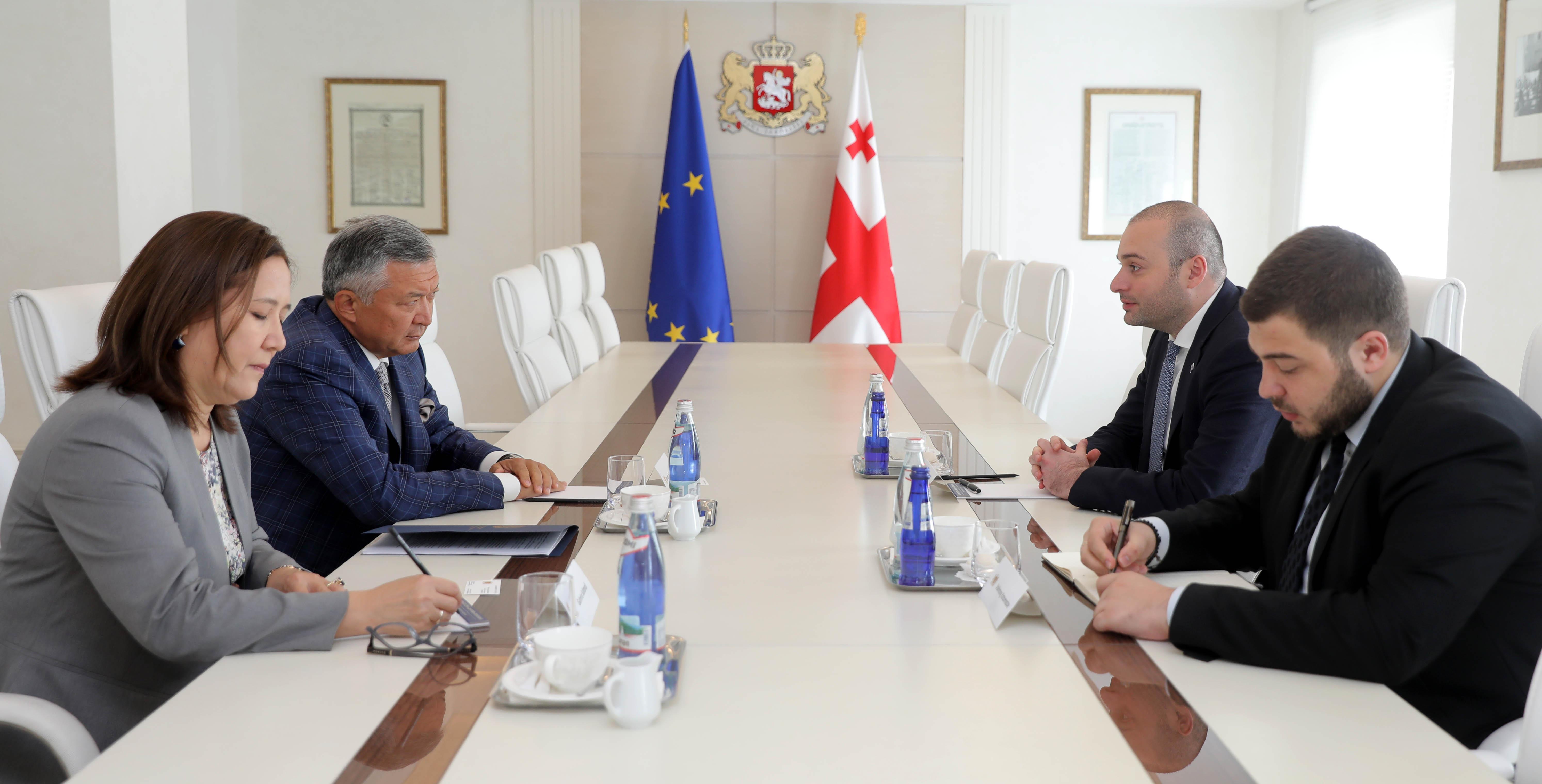 Грузия готова помочь в открытии дополнительных рейсов из Казахстана в Европу