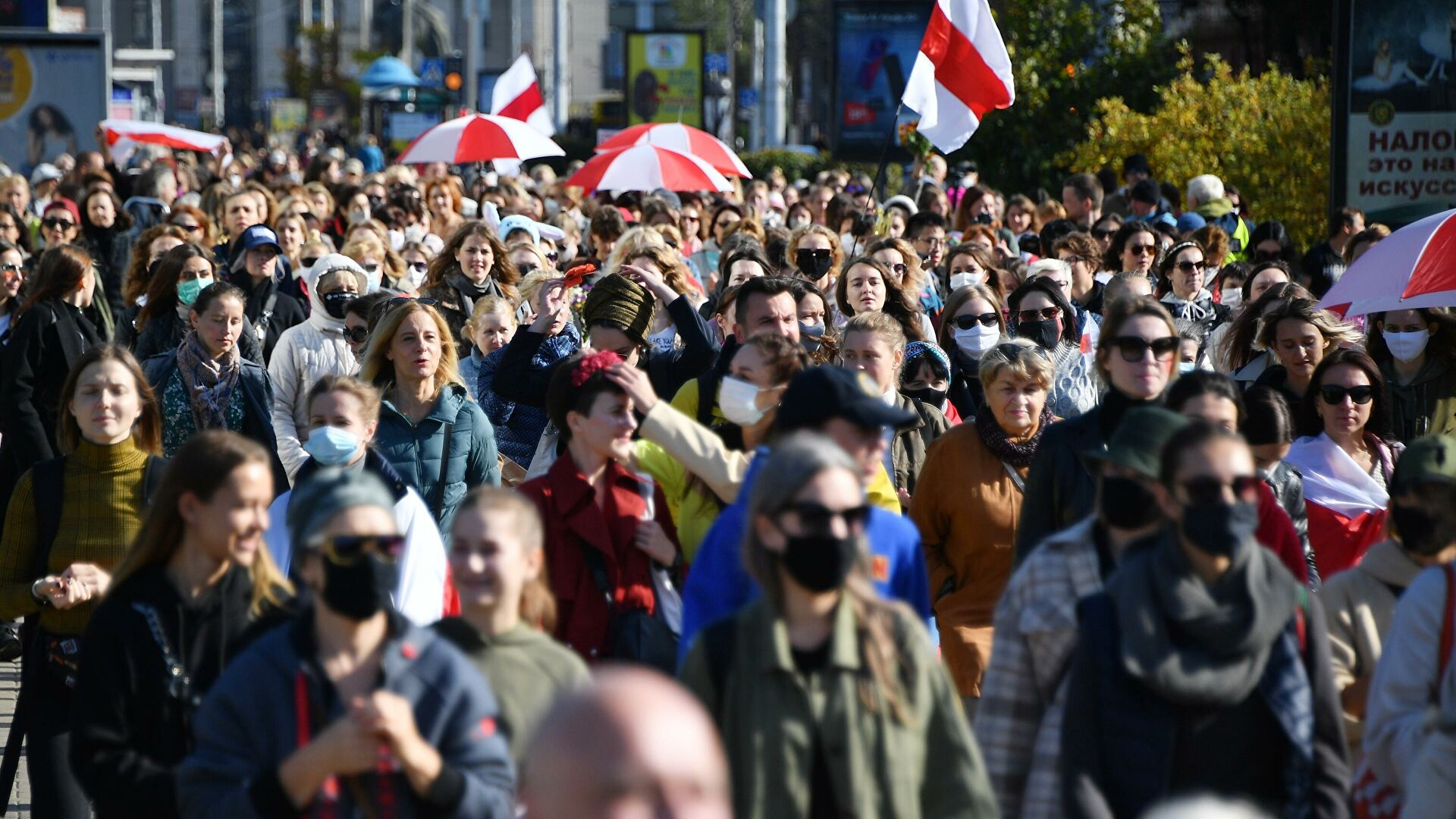 В Минске за время протестов к ответственности привлекли около 3 тыс. человек