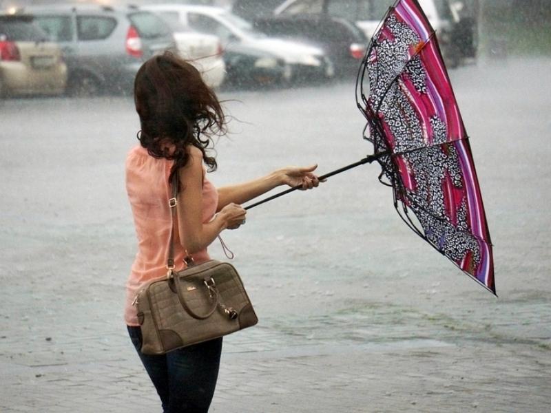 В Акмолинской области объявлено штормовое предупреждение