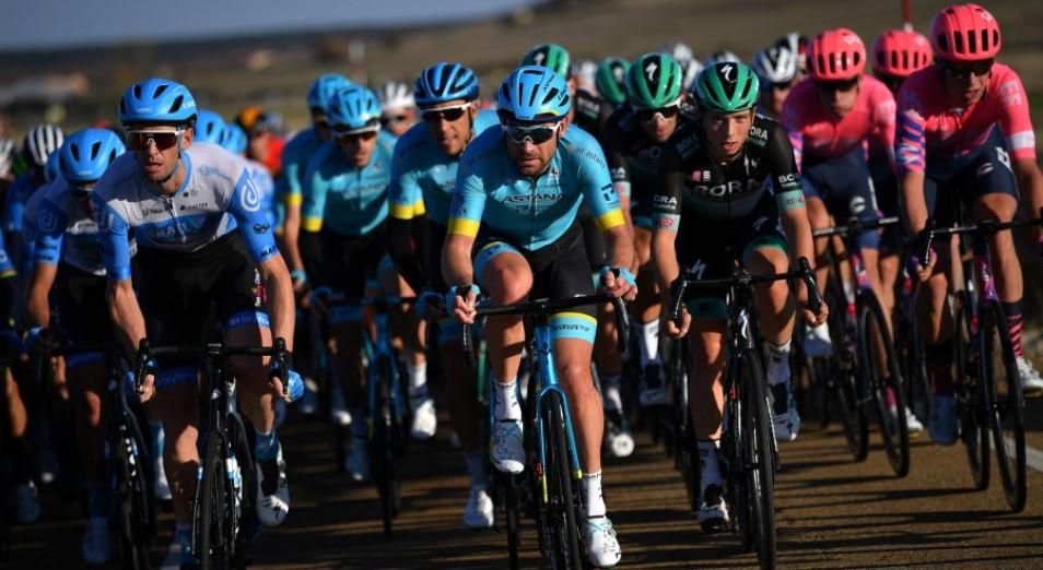 Гонщики Astana Pro Team заморозили места в генерале Вуэльты