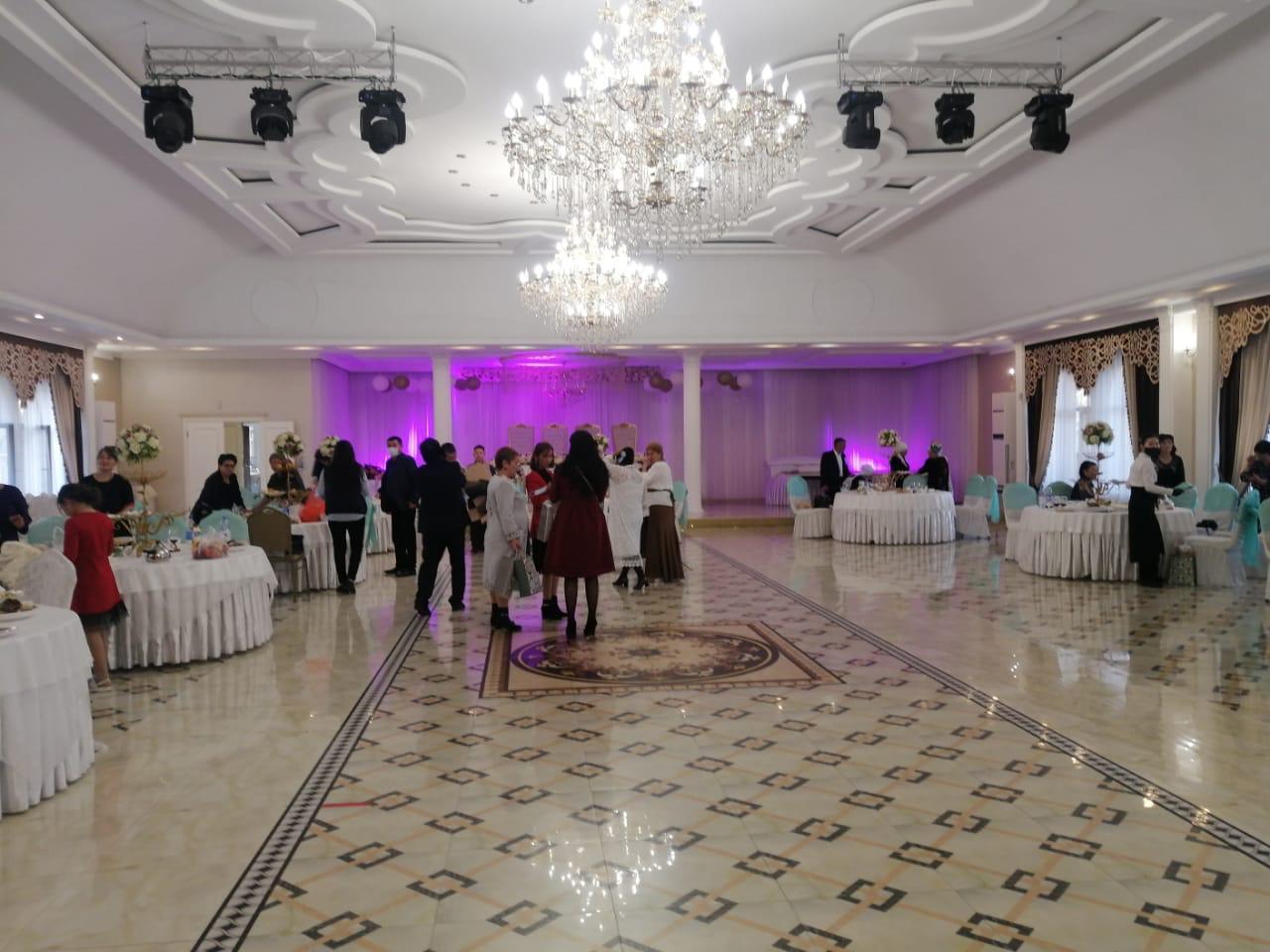 В Алматы выявили и пресекли проведение свадьбы на 80 человек