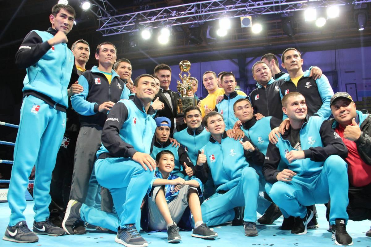Astana Arlans в полуфинале WSB вновь встретится с британцами