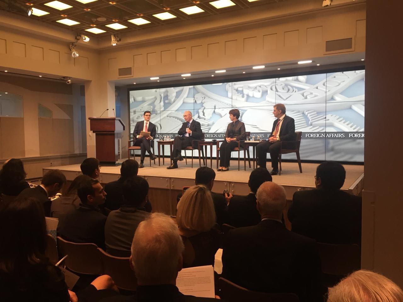 В Нью-Йорке презентовали инвестиционные возможности Казахстана