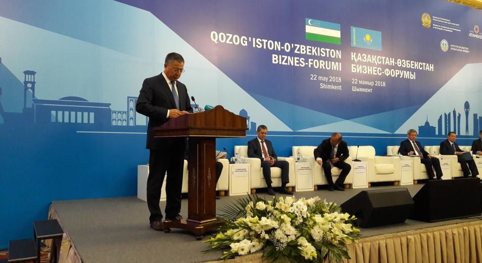 Восемь меморандумов подписано на Казахстанско-Узбекском форуме в Шымкенте, Узбекистан, Казахстан, бизнес, МСБ, ЮКО, торговля