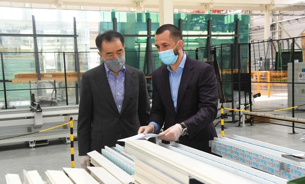 Бакытжан Сагинтаев: Проекты Индустриальной зоны станут основой новой экономической модели роста Алматы