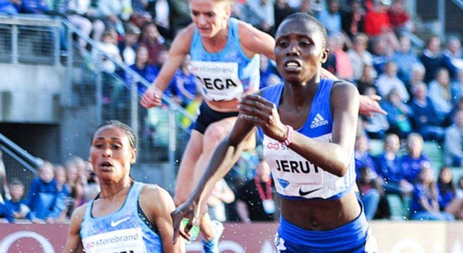 Бегунья Altay athletics взошла на пьедестал, Нора Джеруто, Altay athletics, Легкая атлетика, Бриллиантовая лига