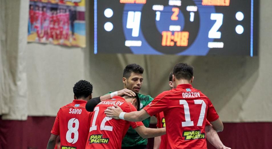 «Кайрат» в 16 раз выиграл Кубок Казахстана по футзалу