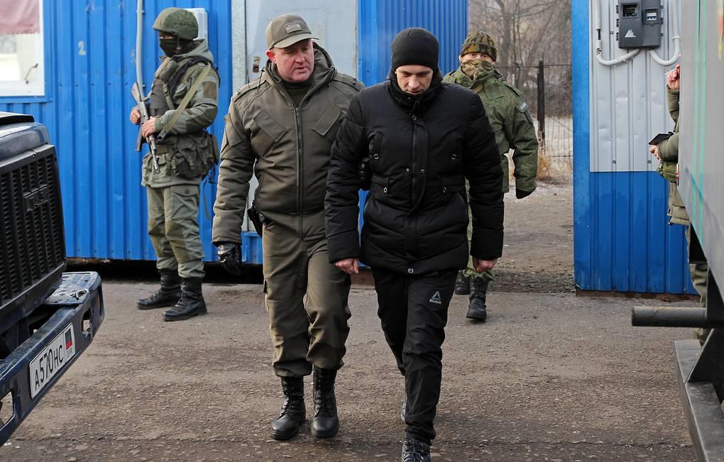"""""""Большой обмен"""" пленными начался в Донбассе"""