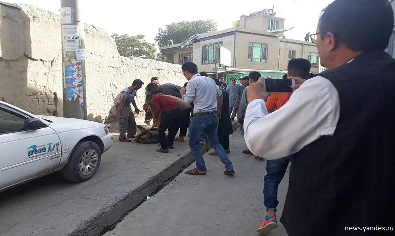Десятки человек погибли в результате теракта в Кабуле